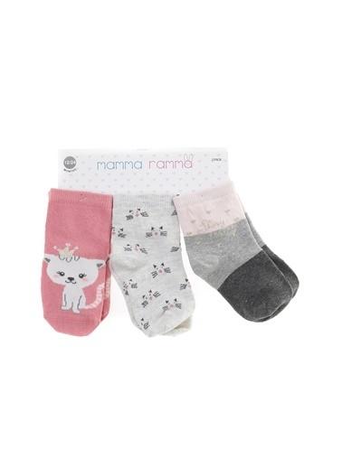 Mammaramma Soket Çorap Pembe
